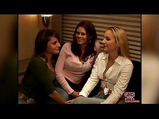 Girls gone wild lesbians kimberly comma malorie and shannon have a party of three