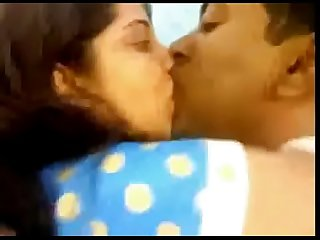 Bangla salli giving long chumma to her Jijju (new)