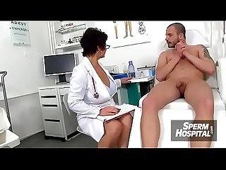 Mom boy medical porn scene feat czech milf doctor gabina