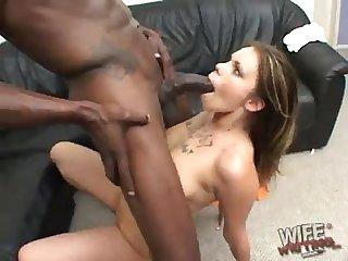 Gia paloma worshipping a Black god