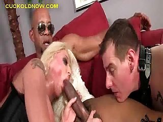 Big black dick for his wife