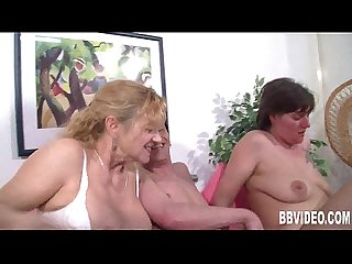 Nasty german milfs share cock