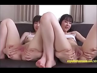 Hot Asian Cute Teen Lesbian First Time