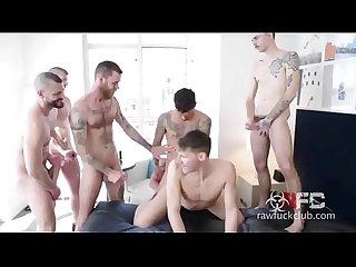 Kinky raw bunch gays18 period club