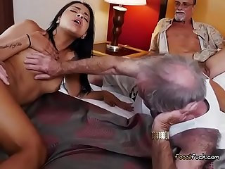 Teen Nikki Kay Lets Old Men Screw Her Hard