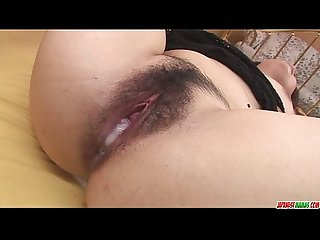 Sexy ass and busty babe finger fucked and pussy plugged with sex toys