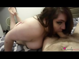 LovelyHaley CHEATS on her hubby with YOU!