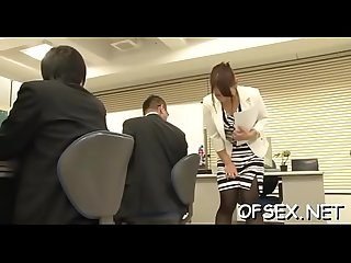 Real sex in the office