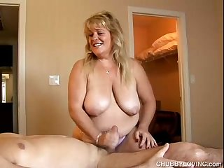 Big beautiful busty blonde bbw