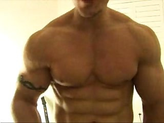 Big muscle webcam guy 1