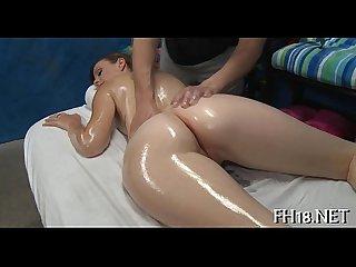 Erotic massage with sex