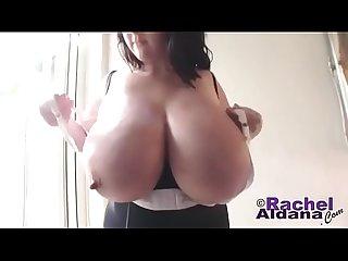 Rachel aldana huge tits white bra creamza com