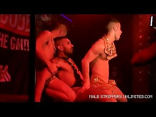 Gay male strippers