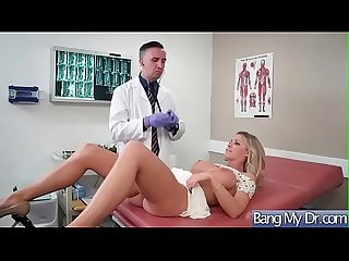 (Jessa Rhodes) Slut Patient Seduce Doctor And Bang Hardcore movie-12
