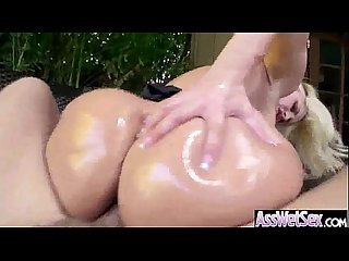 Oiled big ass girl alena croft take it deep in her behind on camera clip 03