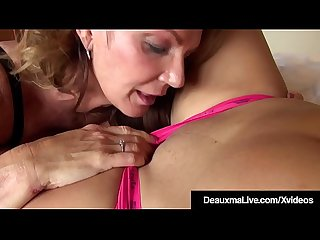 Strapon Cougar Deauxma Pussy Pounds Younger Busty Dolly Fox!